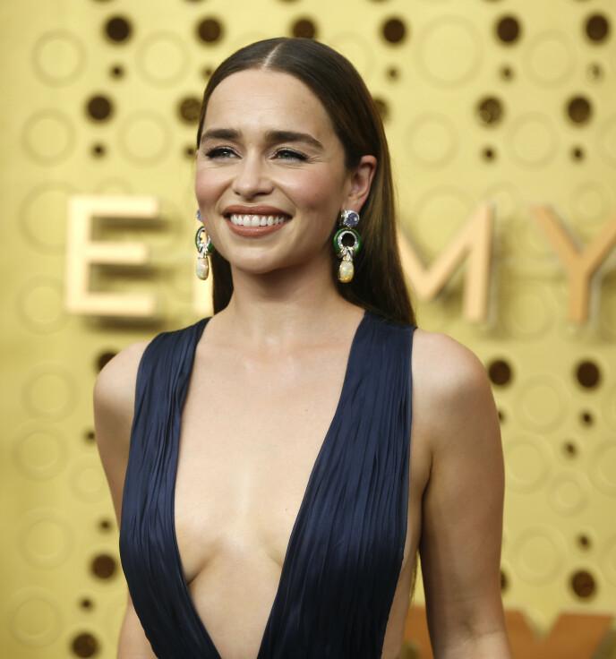KASTET PÅ DØR: Emilia Clarke viste hudpleieren døren da hun ble oppfordret til å ta injeksjoner. Foto: Mario Anzuoni / Reuters
