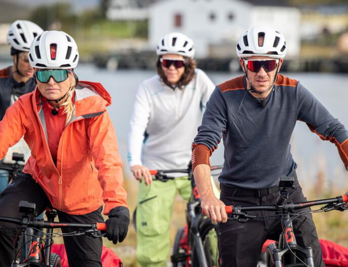 MOR OG FAR: Komikeren mener at han og Vår Staude inntok mor-og-far-rollen under deltakelsen. Foto: Haakon Lundkvist
