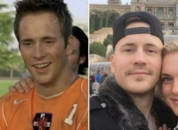 DA OG NÅ: Robert Hoffman i 2006 til venstre. Til høyre er han avbildet med kjæresten Melinda Markulis i 2020. Foto: NTB / @melindamarkulis