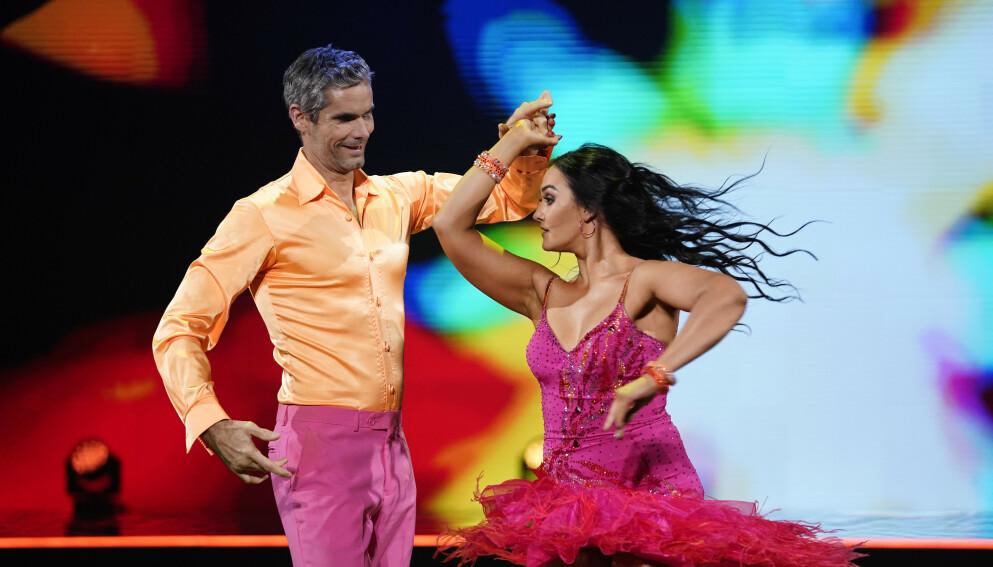 RESERVE: Thomas Alsgaard var reservedeltaker i «Skal vi danse» i fjor. Her i full dans med dansepartner Rikke Lund. Foto: Espen Solli / TV 2