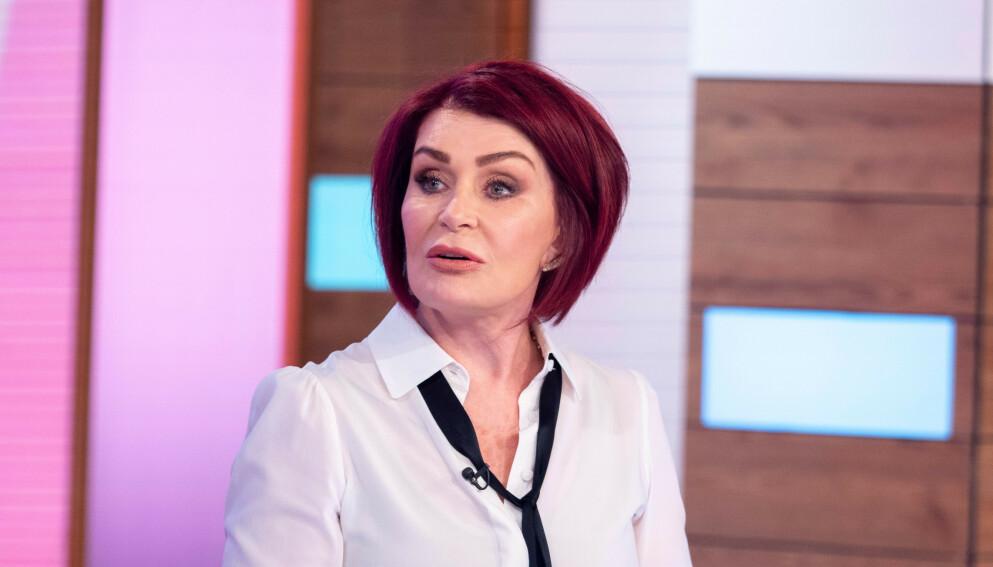 - TRUSLER: Sharon Osbourne skal ha fått mange trusler etter en opphetet diskusjon på «The Talk» i forrige uke. Foto: Ken Mckay / ITV / REX