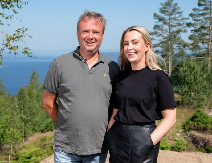 FAR OG DATTER: Veronica og Kurt vil gi familien en samlingsplass. Foto: Espen Solli/TV 2