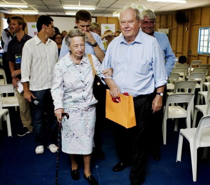 BRASIL: Prinsesse Ragnhild og Erling i Brasil i 2007. Foto: Torbjørn Grønning / Dagbladet
