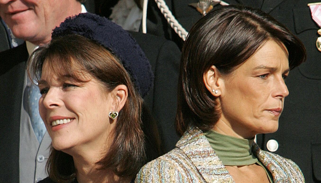 Prinsesse Caroline skal være den eneste som vet hele sannheten, foruten prinsesse Stephanie (t.h.) Foto: NTB.