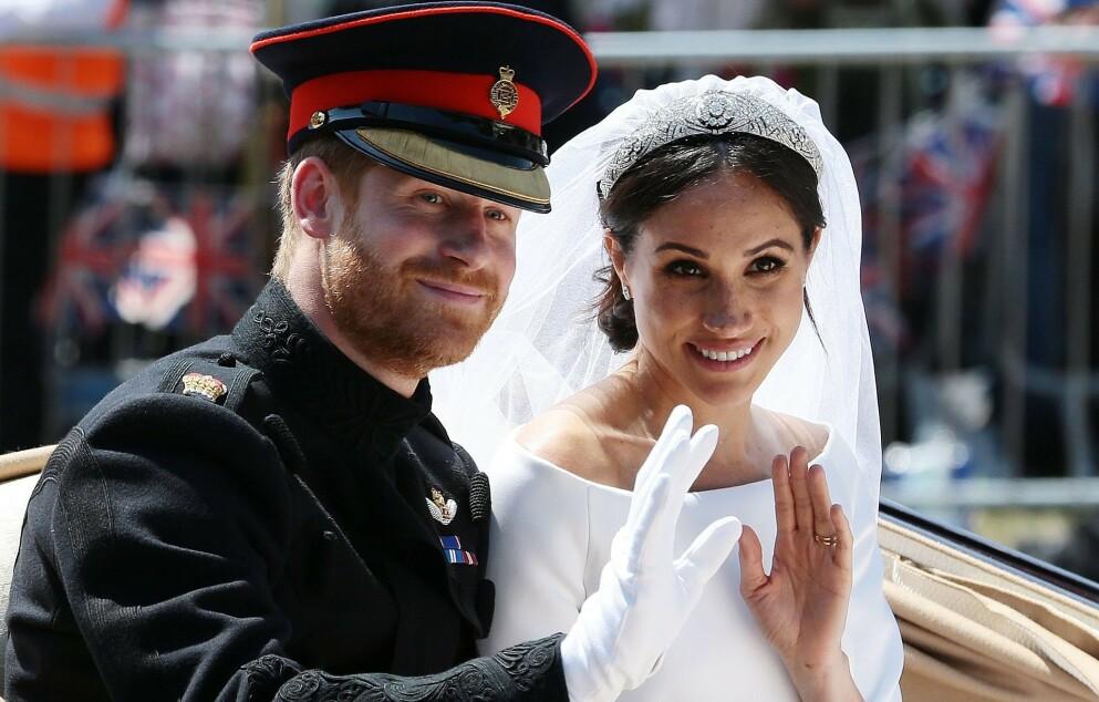 UENIGHETER: Det skal ha oppstått store uenigheter mellom hertuginne Meghan og dronning Elizabeth like før vielsen. Foto: Aaron Chown / AFP / NTB