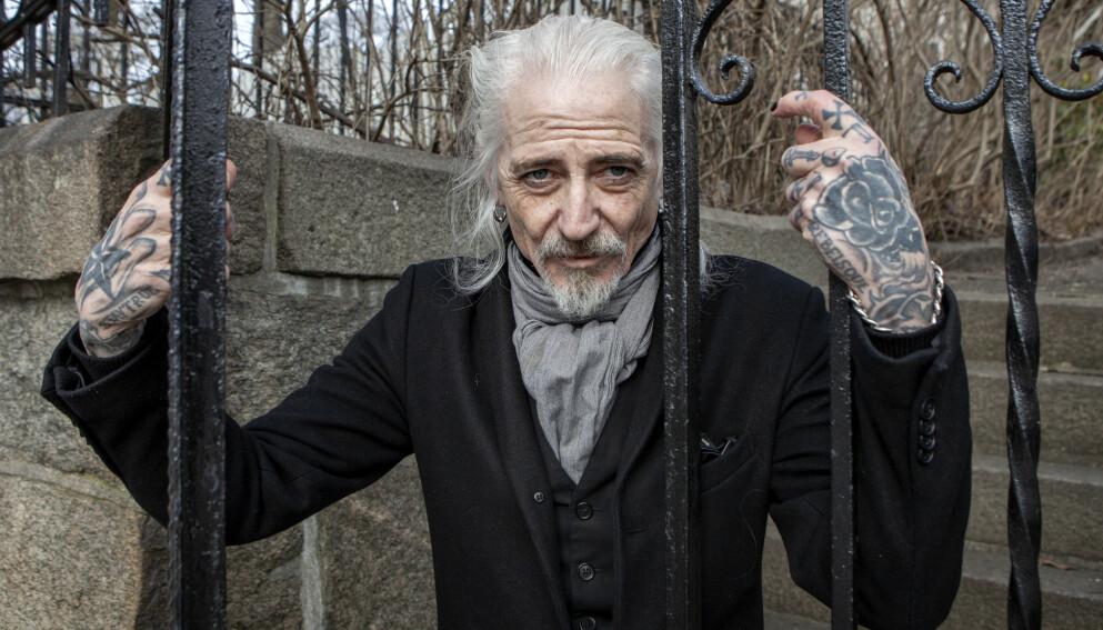 OUTLAW-ARTIST: For folk flest er Tim Scott McConnell kjent som torpedoen fra helvete i NRK-serien «Exit». Men det er musiker og låtskriver han er, og han har samarbeidet og spilt med de største stjernene. Foto: Anders Grønneberg / Dagbladet