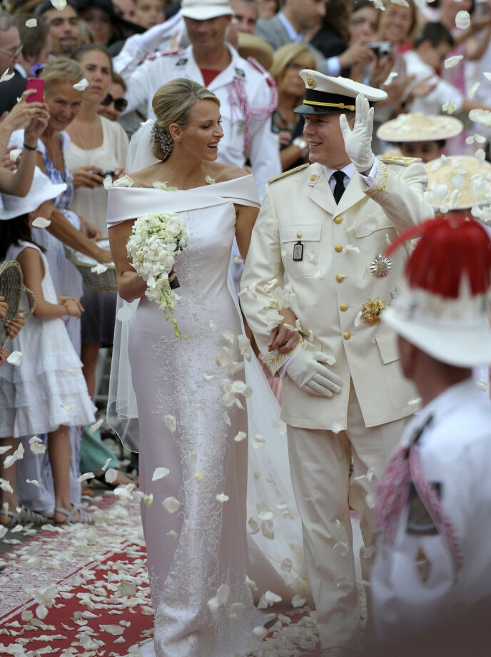 OVERDÅDIG: Da fyrst Albert endelig fikk sin fyrstinne i 2011, fulgte «hele verden» med. Foto: Emma Foster / Reuters / NTB