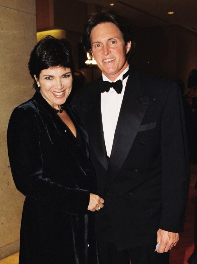 SKILT: Kris og Bruce Jenner, nå Caitlyn Jenner, giftet seg i 1991. I 2015 valgte de å gå hver til sitt. Her avbildet i 1999. Foto: Berliner Studio / BEI / NTB