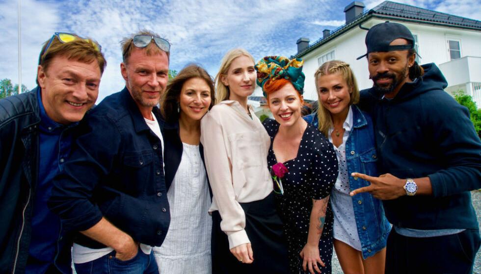 STJERNELAG: Christel Alsos deltok i «Hver gang vi møtes» i 2017. Her er hun i midten. Foto: Håvard Solem / TV 2