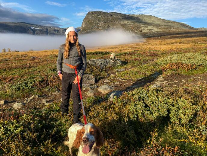 VAKKERT ÅRET RUNDT: Prinsesse Ingrid Alexandra på tur i Sikkilsdalen høsten 2016. Foto; Slottet / NTB