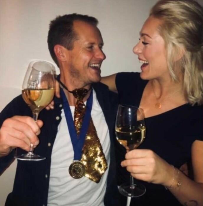 GOD KONTAKT: Per Gunvald Haugen og Karianne Wahlstrøm har fått et godt øye til hverandre. Foto: Privat