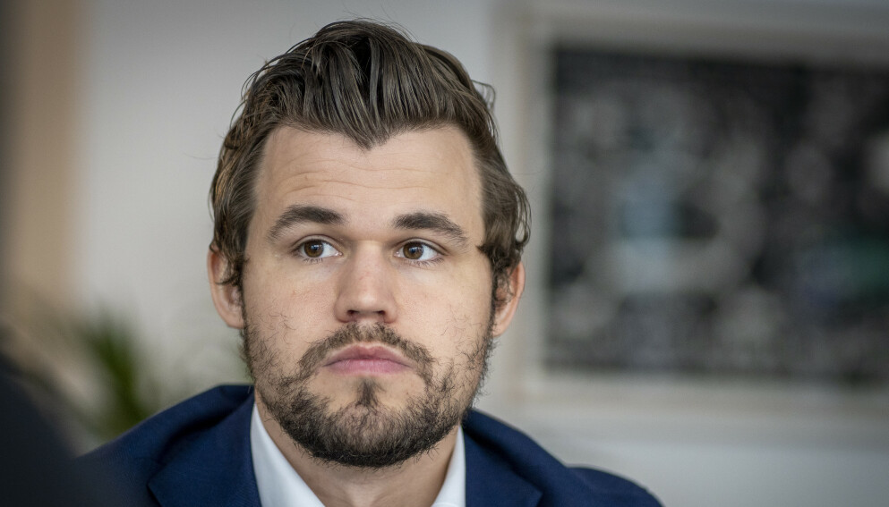 BRUDD: Etter to års forhold er Magnus Carlsen igjen singel. Foto: Heiko Junge / NTB