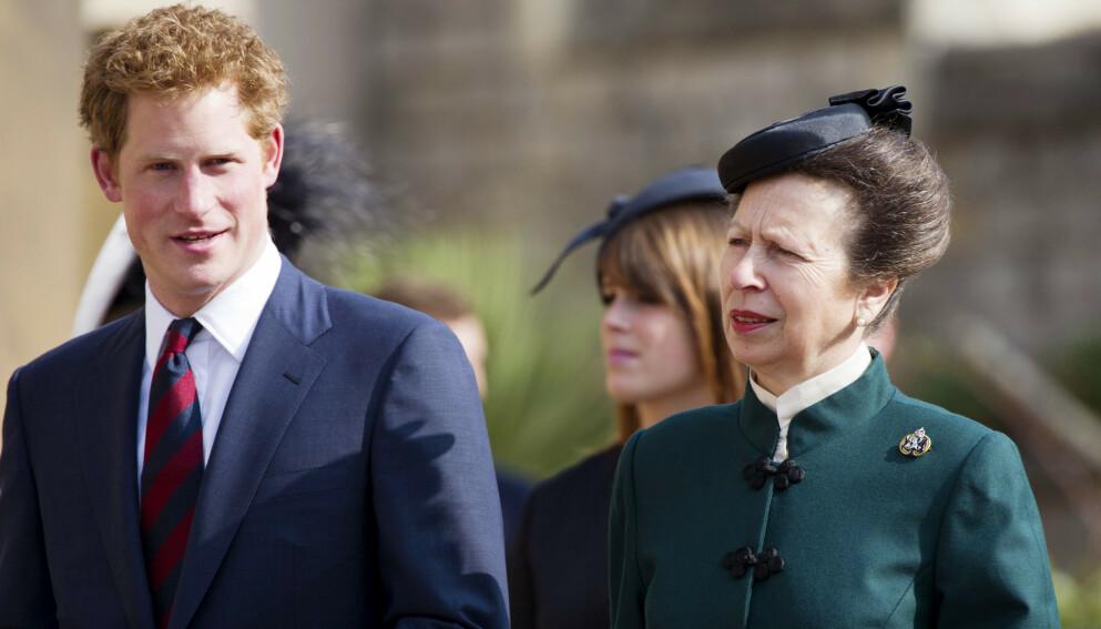UTPEKES: Prinsesse Anne skal ifølge forfatteren være den Harry og Meghan siktet til i Oprah-intervjuet. Foto: REX / NTB