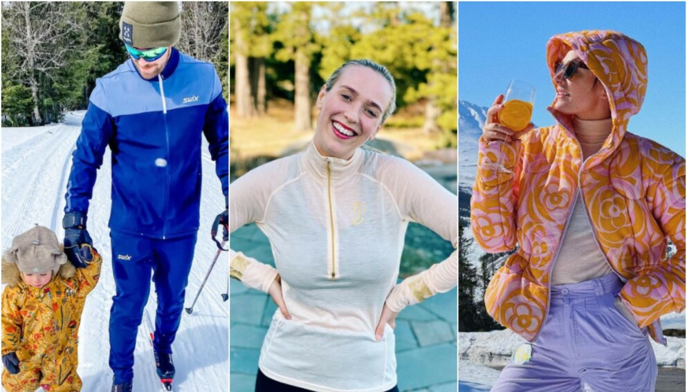 PÅSKETID: Stian Blipp, Katarina Flatland og Jenny Skavland feirer påsken på ulike måter. Foto: Skjermdump fra Instagram