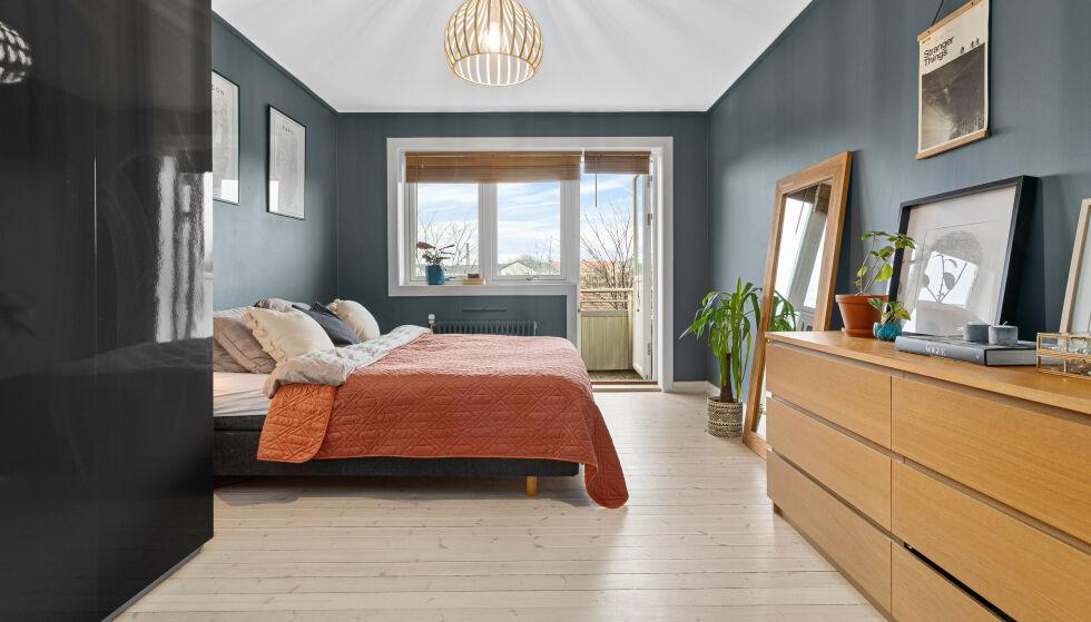 FLYTTER: Marte Bratberg har i drøyt tre og et halvt år holdt hus i denne leiligheten. Nå bærer det videre. Foto: Fotograf Anthony Hopkins