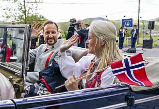 Kronprinsparet kan bli sittende på karantenehotell 17. mai