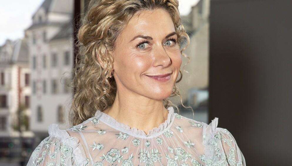 MAMMA: Cecilie Skog snakker varmt om mamma-tilværelsen i et nytt intervju. Foto: Andreas Fadum/Se og Hør