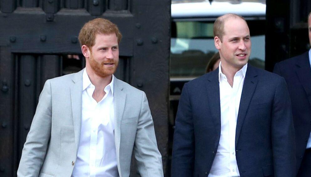 KJØLIG: Forholdet mellom prins Harry og prins William skal ikke ha bedret seg. Foto: Beretta/Sims/REX/NTB