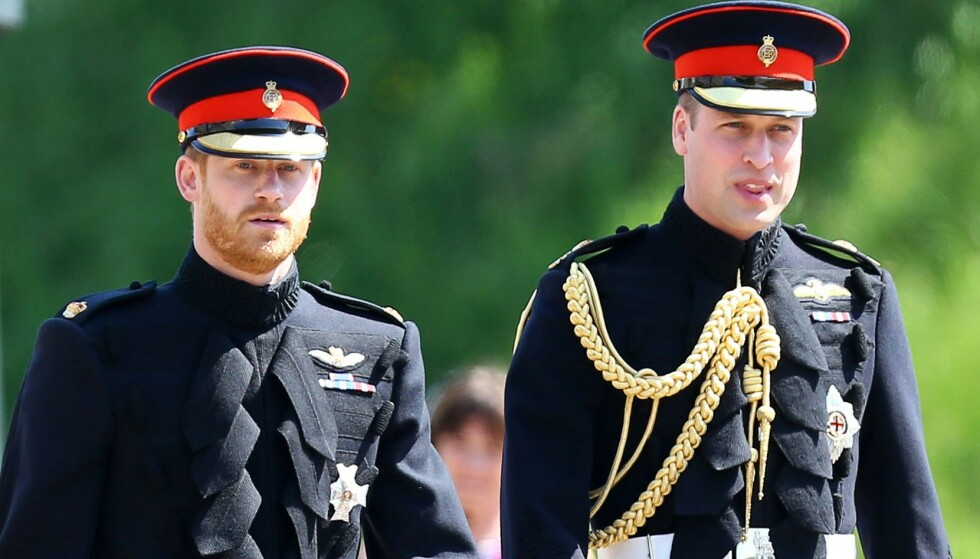 VIKTIG SAMTALE: Prins Harry og prins William skal ha snakket sammen nylig, men først nå blir det avslørt hva de skal ha snakket om. Foto: REX / NTB