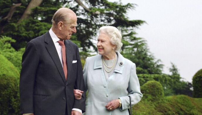 KJÆRLIGHET: Prins Philip var dronning Elizabeths store kjærlighet. Paret holdt sammen i mer enn sju tiår. Foto: Fiona Hanson / PA via AP / NTB