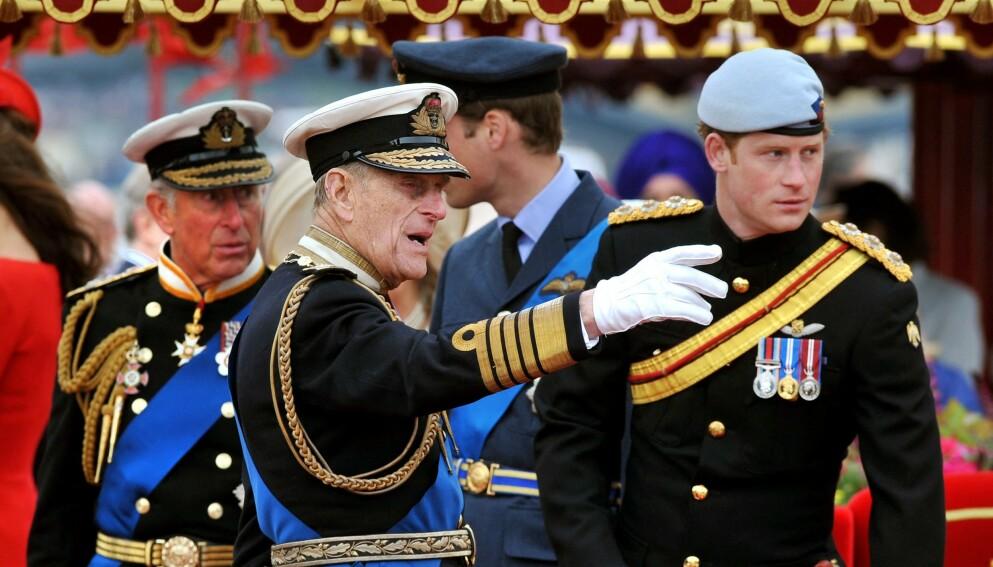DELTAR: Prins Harry, som for tiden bor i USA, vil fly til England for å ta et siste farvel med prins Philip neste uke. Foto: JOHN STILLWELL / AFP / NTB