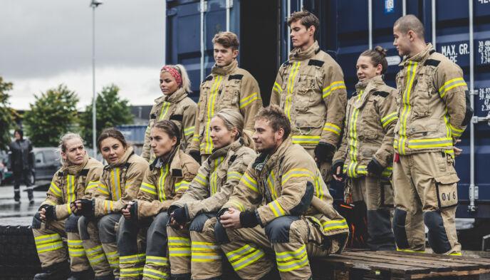 KNALLTØFF GJENG: De beinharde deltakerne har bidratt til svært gode seertall for programmet denne sesongen. Foto: Erlend Lånke Solbu/NRK