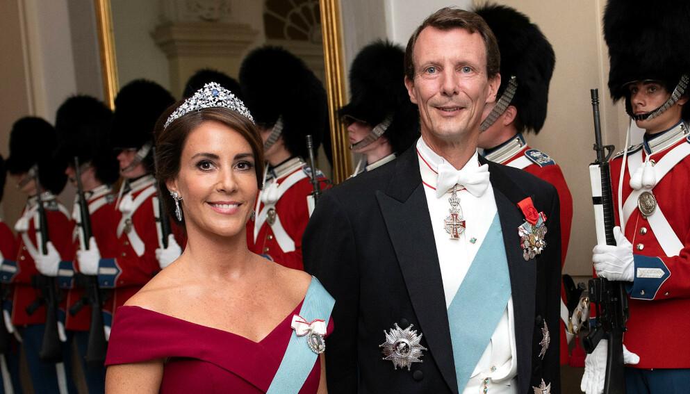 DRAMATISK: Prinsesse Marie og prins Joachim fikk seg en skikkelig støkk da han i fjor ble rammet av blodpropp i hjernen. Foto: Reuters / NTB