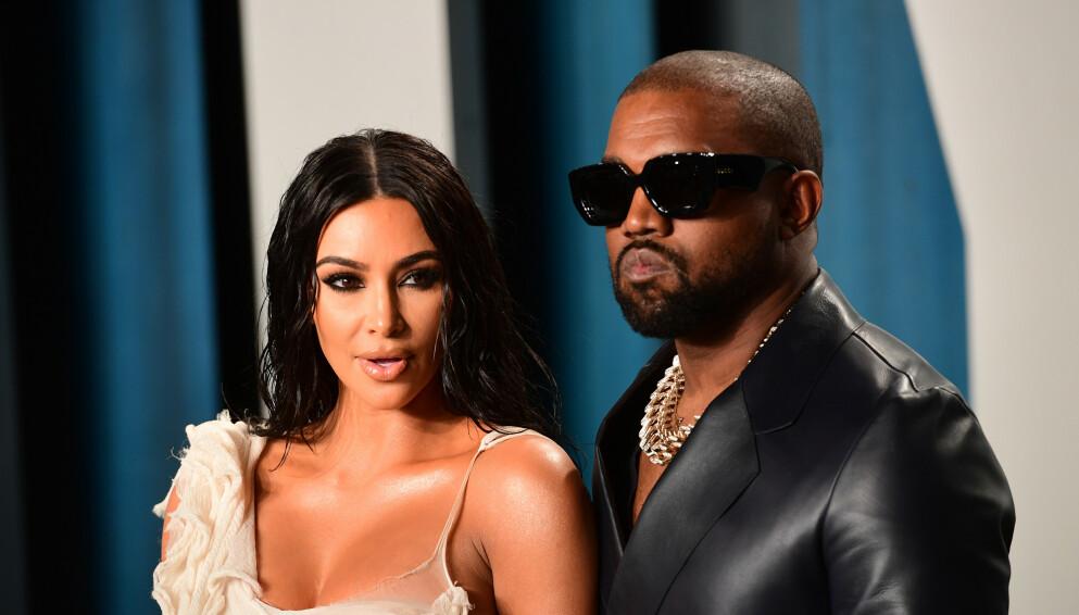 BRUDD: For to måneder siden kom nyheten om at Kim Kardashian og Kanye West skulle skilles. Foto: Pa Photos / Ian West / NTB