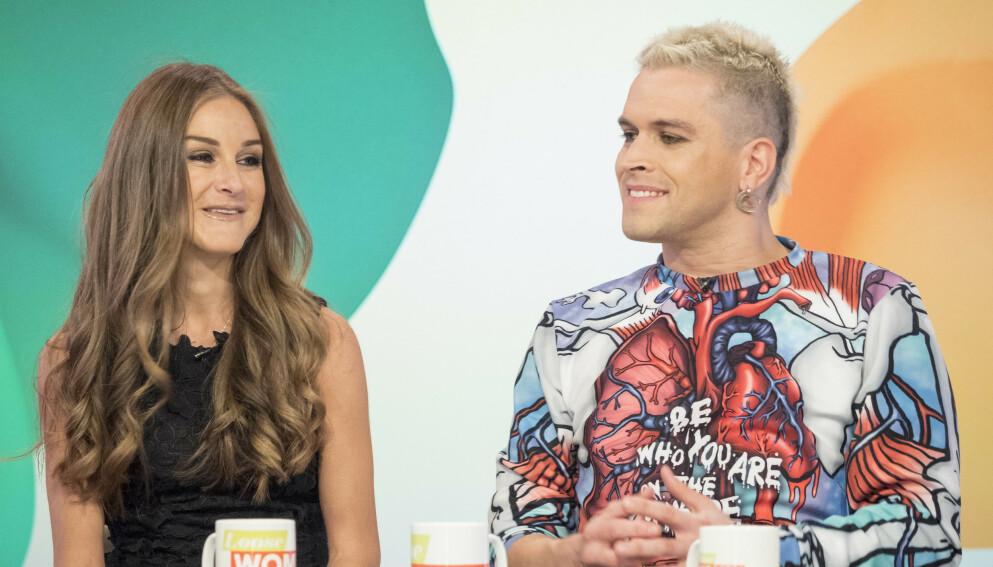 NÆRE VENNER: Nikki Grahame og Pete Bennett møttes i «Big Brother»-huset i 2006, og bevarte vennskapet til det siste. Foto: Ken McKay/ITV/REX/NTB