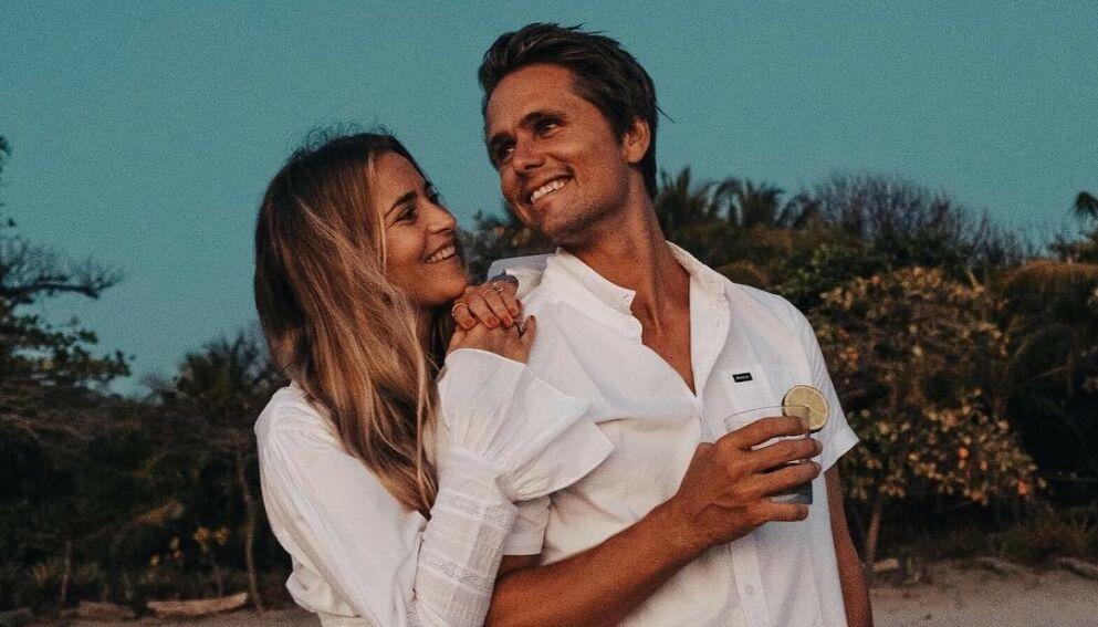 TOBARNSFORELDRE: Bare et drøyt år etter at Janni og Jon Olsson Delér fikk sitt første barn, har de nå blitt foreldre igjen. Foto: Hampus Marcussen