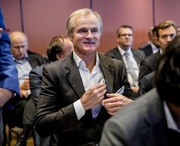 SELGER: Øystein Stray Spetalen ønsker rekordhøye 30 millioner kroner for leiligheten på Norefjell. Foto: Stian Lysberg Solum / NTB