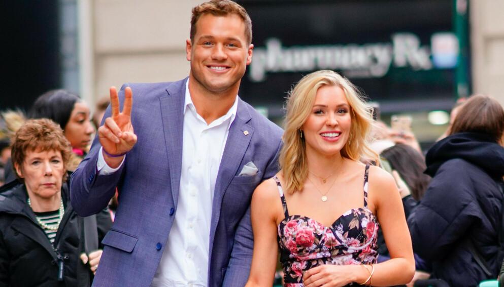 VAR SAMMEN: Underwood fant lykken med Cassie Randolph under innspillingen, men de gjorde det slutt i mai 2020. Nå står han frem som homofil. Foto: Pa Photos / NTB