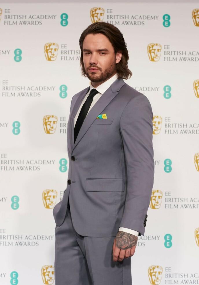 NY: Liam Payne overrasket fansen da han dukket opp på prisutdelingen med en helt ny sveis. Foto: EE / BAFTA / Shutterstock Editorial / NTB