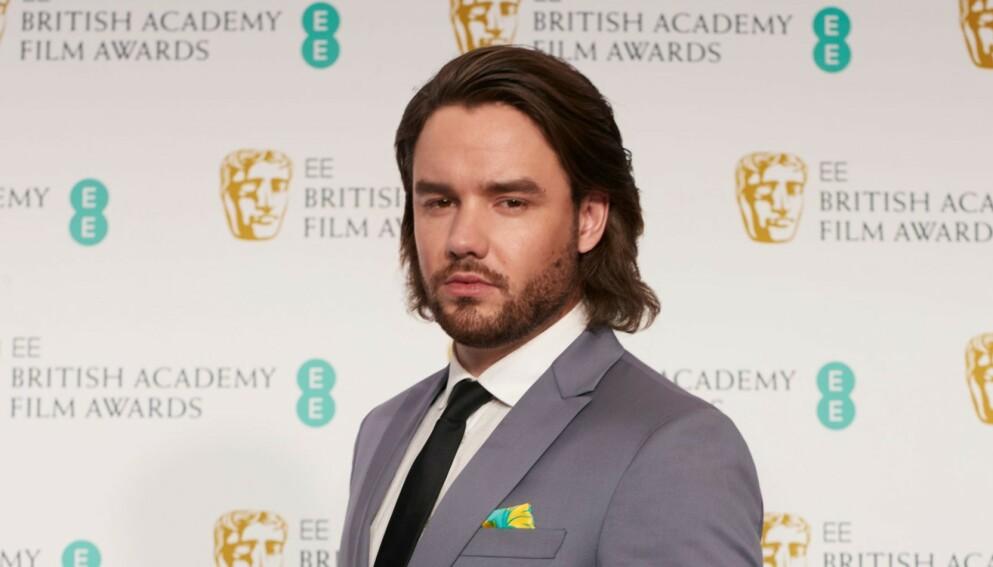 OVERRASKET: Liam Payne overrasket fansen da han dukket opp på prisutdeling med en helt ny sveis. Nå har han oppdatert frisyren enda en gang. Foto: EE / BAFTA / Shutterstock Editorial / NTB