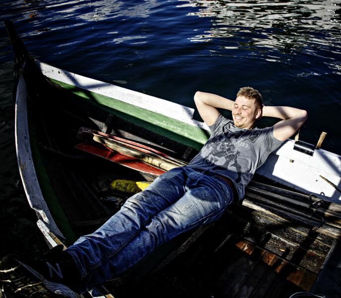 HARDT ARBEID: På havet er det tidvis ekstreme arbeidsforhold, og Dreyer forteller at han noen ganger jobber opptil flere døgn i strekk. Foto: Nina Hansen / Dagbladet