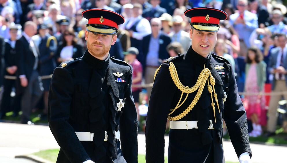 DROPPER UNIFORMEN: Det er ventet at den mannlige delen av kongefamilien stiller i dress når prins Philip gravlegges lørdag. Foto: Shutterstock / REX / NTB