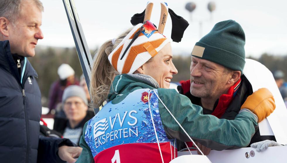 SJOKKBESKJED: Under oppladningen til årets sesong fikk Therese Johaug en vond beskjed om faren. FOTO: NTB
