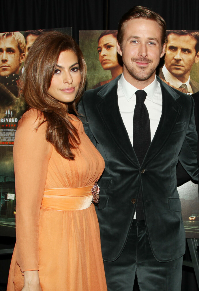 GIFT: Ryan Gosling og Eva Mendes giftet seg i 2011. Foto: Dave Allocca / Starpix / REX / NTB