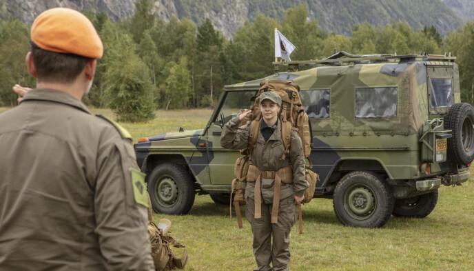 OVER OG UT: Christine Danckes «Kompani Lauritzen»-eventyr tok slutt lørdag. Foto: Matti Bernitz / TV 2