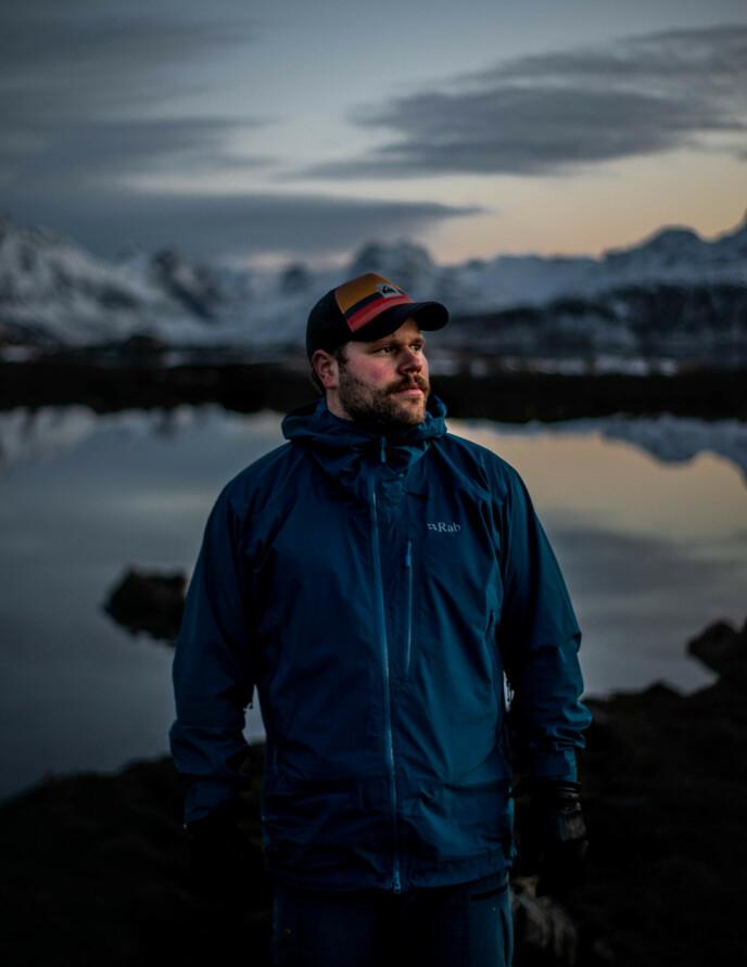 ODELSGUTT: 28 år gamle Sebastian Muth Johansen ønsker å møte ei dame som vil bosette seg i nord. Foto: Sondre Lauritsen / TV 2
