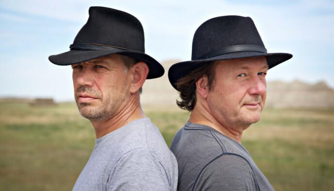 PÅ TUR SAMMEN: Tidligere år fikk tv-seerne se at Leif Einar Lothe hadde med seg nettopp Svein Østvik i TV 2-serien «Ekspedisjon Lothepus». De to reiste rundt i statene Nord- og Sør-Dakota. Foto: TV 2