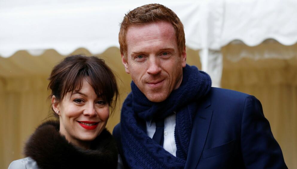 HYLLES: Helen McCrory gikk bort før helgen. Nå hylles hun av ektemannen, Damian Lewis. Foto: Luke Macgregor / Reuters / NTB