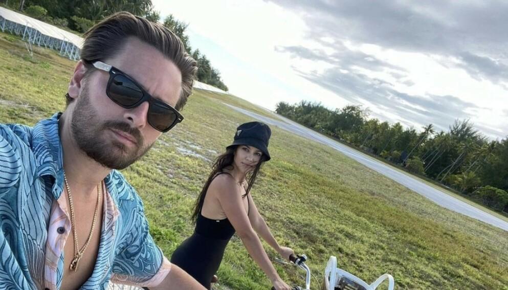 ENDRET FORHOLD: Scott Disick og Kourtney Kardashian har vært svært nære som foreldre etter at de gikk hver til sitt. Nå skal imidlertid ting ha endret seg litt mellom dem. Foto: Skjermdump fra Instagram