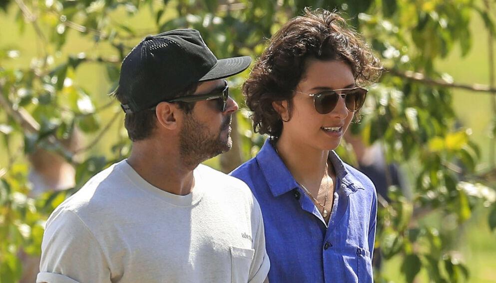 SLUTT: Zac Efron og Vanessa Valladares ble først koblet til hverandre i fjor sommer. Nå skal det være slutt. Foto: NTB