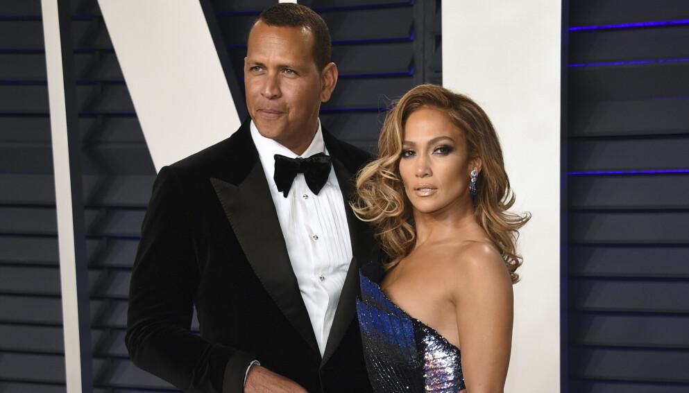 SLUTT: Forholdet mellom Alex Rodriguez og Jennifer Lopez tok slutt tidligere denne måneden. Foto: Evan Agostini/Invision/AP/NTB