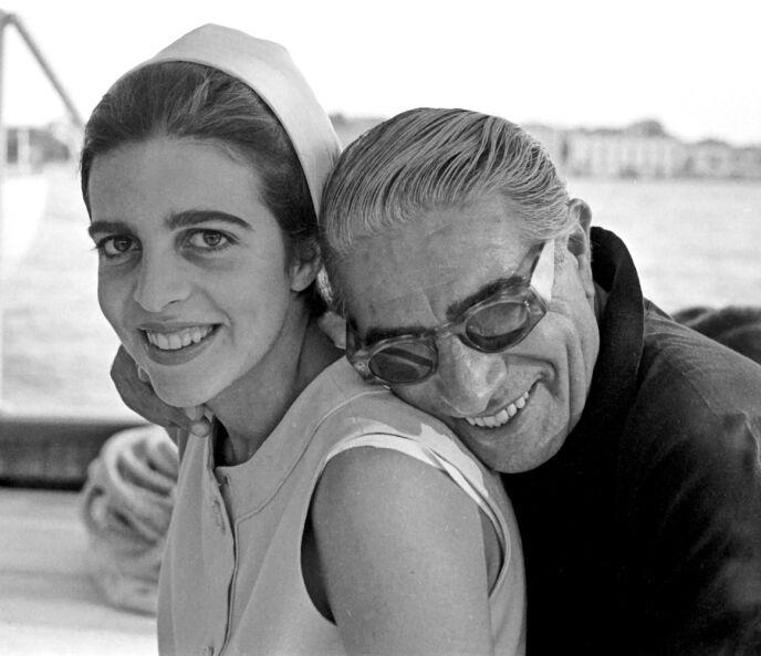 ENEARVING: Christina Onassis arvet rundt én milliard dollar da faren døde. Her avbildet i 1975. Foto: Harry Fox / REX / NTB