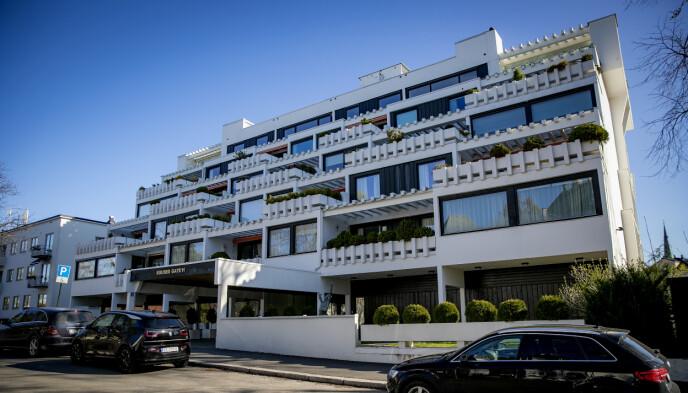 NYKOMMER: Frogner-komplekset i Kruses gate er kjent for å ha huset en rekke kjente profiler innen norsk næringsliv. Foto: Bjørn Langsem / Dagbladet