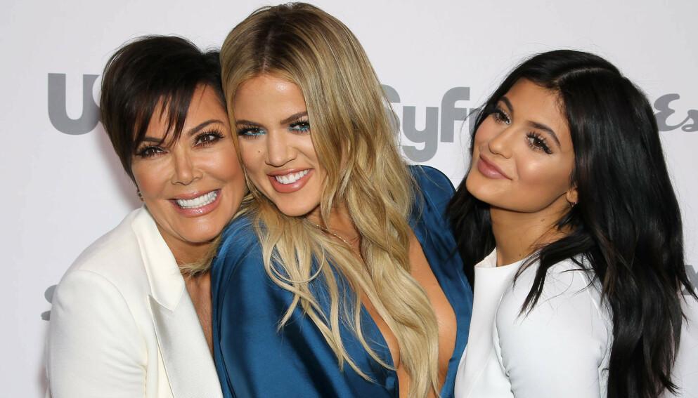 INGEN OFFENTLIG STØTTE: Kardashian/Jenner-familien kommer ikke til å offentlig gi sin støtte til Caitlyns valgkampanje. Foto: Marion Curtis / Starpix / REX / NTB