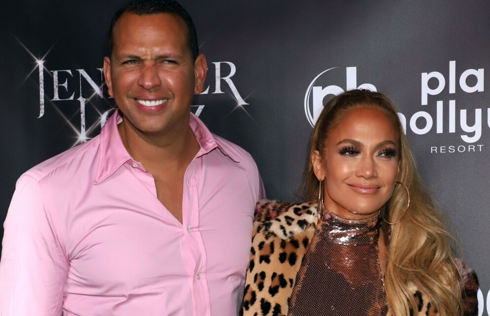 GJENFORENT: Alex Rodriguez og Jennifer Lopez skal ha tilbragt helgen sammen i Los Angeles. Foto: KCR/REX/NTB
