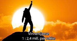 Image: I kveld kan man vinne inntil 20 millioner